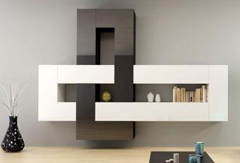 0360621be160 dizajnová obývacia stena BRILIANT I