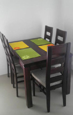 stôl drewmax, stoličky Falco