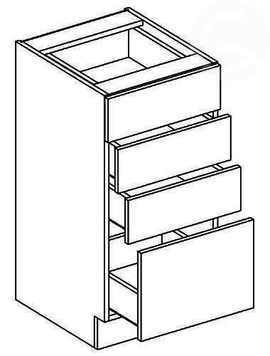 Skrinka so zásuvkami s metaboxami, šírka 40 cm  ku kuchyni SOALR. Skrinka má biely korpus, predné dvierka sú v prírodnom odtieni dub sonoma. Elegantné pochrómované úchyty. Je vyrobená z kvaltinej LTD dosky. Rozmer skrinky (v/š/h) 82 x 40 x 45 cm. Pracovná doska nie je v cene. Kuchyňu SOLAR ponúkame aj ako kompletnú zostavu 240. Pri návrhu kuchyne treba dodržiavať niekoľko zásad, viac v článku: Ako si navrhnúť kuchyňu. Cena: 44.5000 EUR