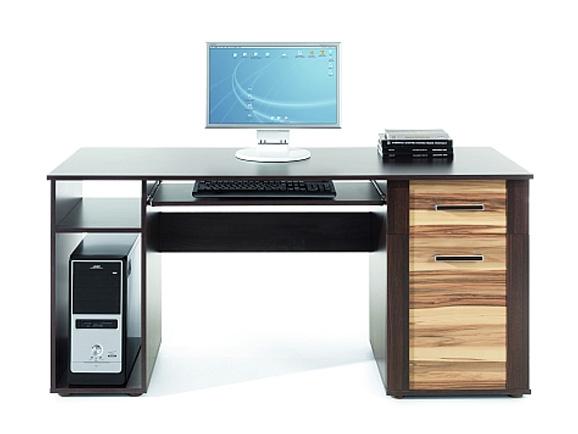 Pracovný stôl Kvanto priestorovo pripôsobený počítačovej zostave. Ku stolu sa hodí Kvanto nadstavec 150. Zaujímavé farebné riešenie. Korpus je vo farbe wenge, farba dvierok je na výber: baltimore alebo oliva. PC stôl je vyrobený z  LTD dosky. Úchyty sú z plastu. Kvanto pracovný stôl patrí do moderného sektorového nábytku Kvanto, ktorý je vhodný na zariadenie obývacej miestnosti, pracovne či detskej izby.  Cena: 78.9 EUR