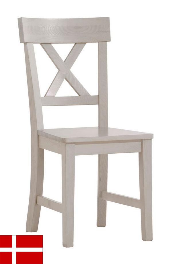 Stolička 526 zo štýlového sektoru MONAKO, ktorý pochádza z produkcie dánskeho výrobcu kvalitného nábytku. Nábytok je vyrobený z masívneho borovicového dreva. Príjemné farebné prevedenie White, na nábytku vidno prírodné sfarbenie dreva (nie je dôvod na reklamáciu). Rozmer 94 x 44 x 53 cm. Dodávame v demontovanom stave. Originálny nábytok MONAKO dodá Vašej domácnosti tu správnu atmosféru. Dizajn nábytku je vhodný do interiérov ladených do provensálskeho či vintage štýlu. Týmto nábytkom si môžete štýlovo zariadiť svoju spálňu, obývačku či jedáleň. Cena: 81 EUR