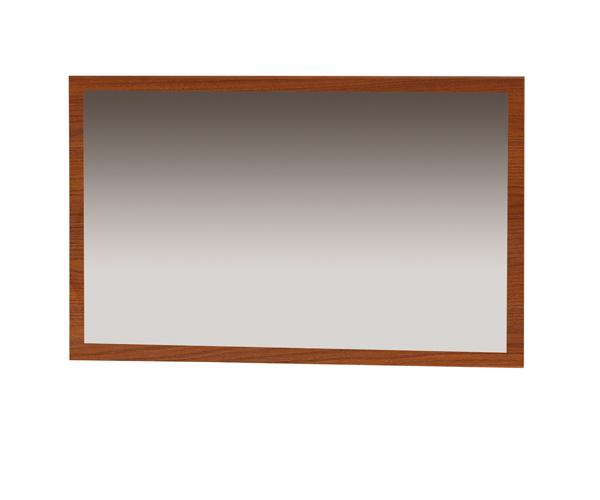 Zrkadlo SELENE LUS.96, gaštan klasik. Kolekcia SELENE  je príkladom dokonalej kombinácie klasickej elegancie s modernými prvkami. Ponúka 21 prvkov z ktorých môžete ľubovoľne zariadiť obývaciu izba alebo spálňu. Charakteristickým prvkom kolekcie sú dekoratívne panely z potiahnuté tkaninou s kontrastnými štepovaním. Perfektný vzhľad dotvárajú lesklé kovové úchytky . Nožičky - plastové vo farbe chróm lesklý. Čelá nábytku sú vyrobené z laminovanej dosky, odolné voči teplu, oderu, chemikáliám a  zmene farby. ABS sú vo farbe korpusu. Cena: 27 EUR