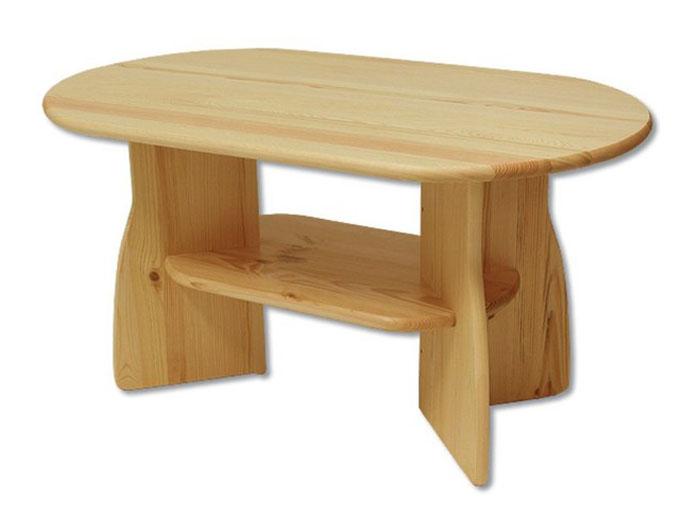 ST112 Konferenčný stolík z masívneho borovicového dreva. Farebné prevedenie: prírodná borovica. Možnosť namorenia na odtieň dub, jelša a orech za 10%-ný príplatok. Vhodný do obývačky. Pozor!!! Produkt má špeciálnu povrchovú úpravu na ochranu proti škodcom. Preto v prípade ak máte záujem o produkt, ktorý chcete dodatočne namoriť, treba v objednávke uviesť: