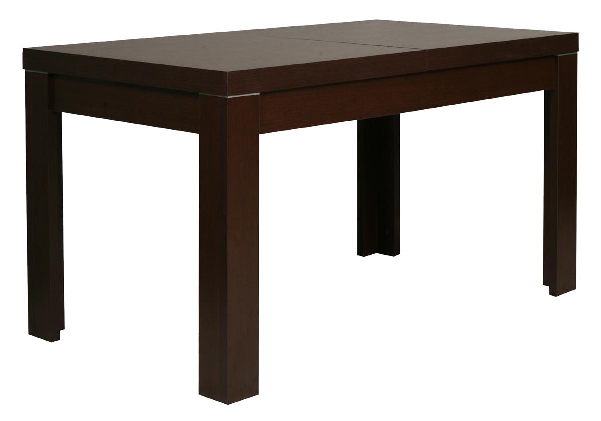 Jedálenský stôl rozkladací z exkluzívneho sektoru MENTI vo farbe wenge amario.Nohy sú v tvare písmena L. Materiál je ľahkoudržiavateľné LTD. Zaoblené predné hrany dodávajú tomuto nábytku eleganciu. V ponuke nájdete 22 elementov, z ktorých si môžete jednoducho vyskladať obývaciu izbu podľa vlastných predstáv a požiadaviek. Tento nábytok je vhodný nielen do obývacej izby, ale aj pracovne a spálne. Nábytok je dodávaný v demonte. Cena: 187 EUR