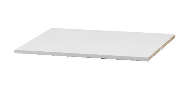 Police do šatníkovej skrini VICTOR 4. V sade sa nachádzajú 2 kusy políc. Materiál  LTD. Cena: 19.9000 EUR