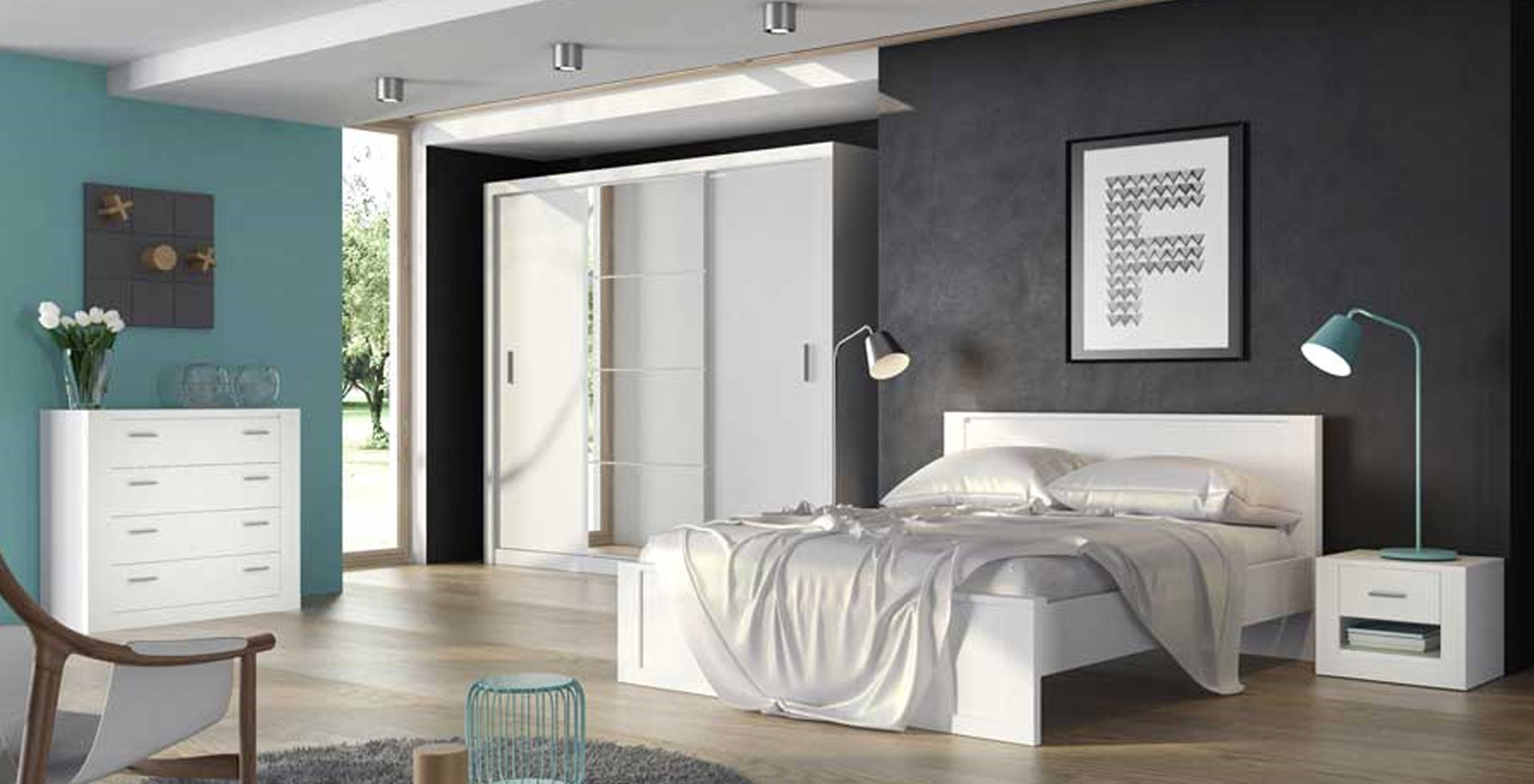IDEAL spálňa