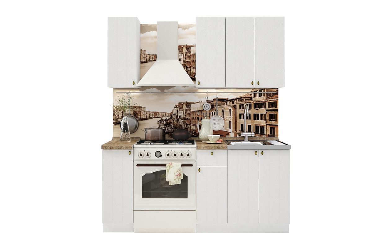 PROVENSAL 120 kuchynská zostava biele drevo
