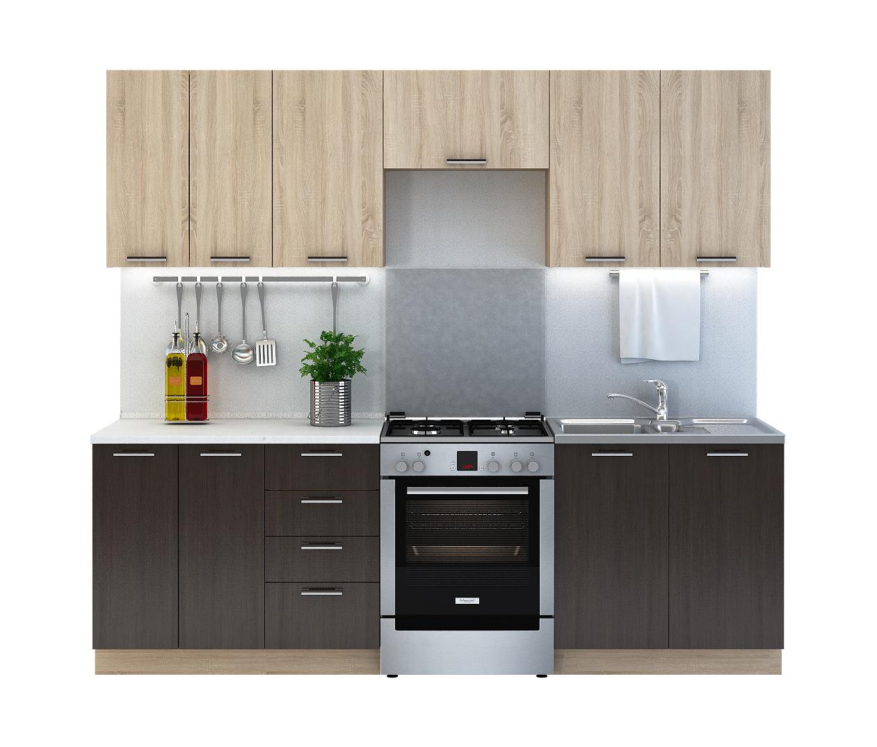 Kuchynská zostava BROWNIE 240 bez PD