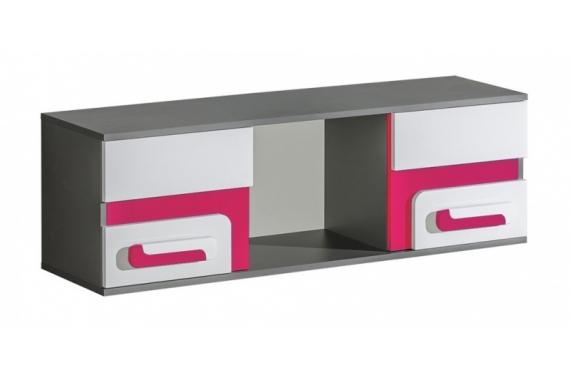 TITO závesná skrinka A10, ružová
