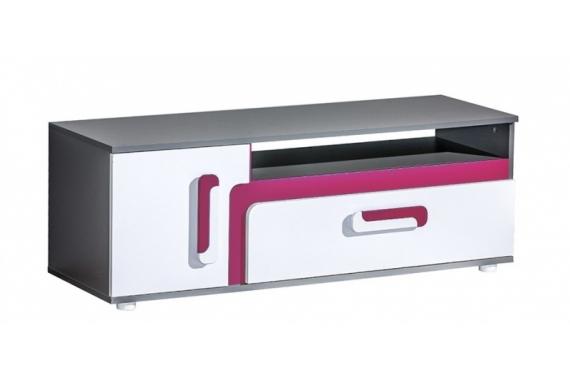 TITO TV stolík A17, ružová