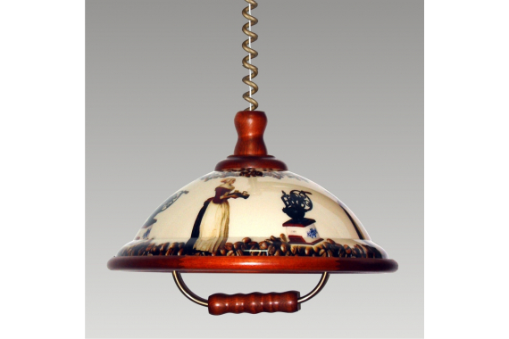 Prezent ACRYL WOOD 51061 kuchynský luster