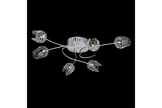 DELPHI, stropný luster Luxera 64039