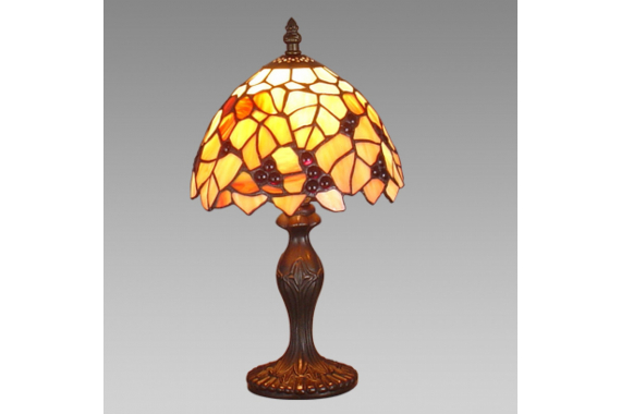 Prezent 69 TIFFANY stolná lampa