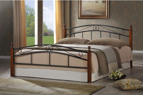 Kovová posteľ DOLORES 140x200