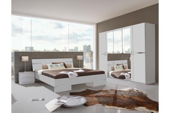 Moderná spálňa ANNY 131 alpská biela