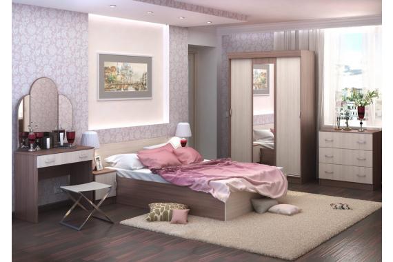 BASKA posteľ 90x200 KP-555, jasan šimo