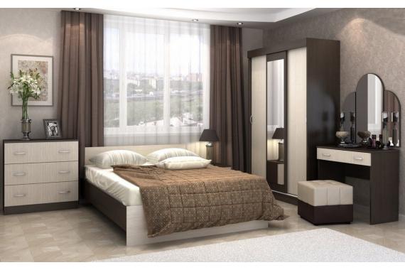BASKA dub belfort/wenge spálňa na mieru