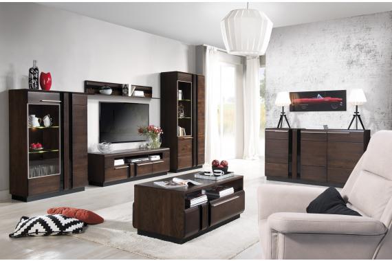 PORTORIKO obývačka na mieru, dub čokoládový