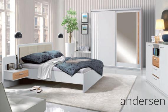 BANDI atraktívna spálňa ANDERSEN