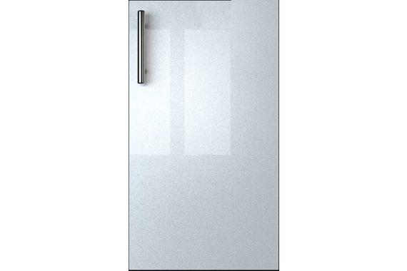 GLASS kuchynská linka 240, bordo/biely metalic