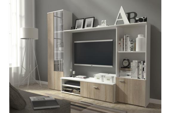 Lacná obývacia stena HUGI B/DS
