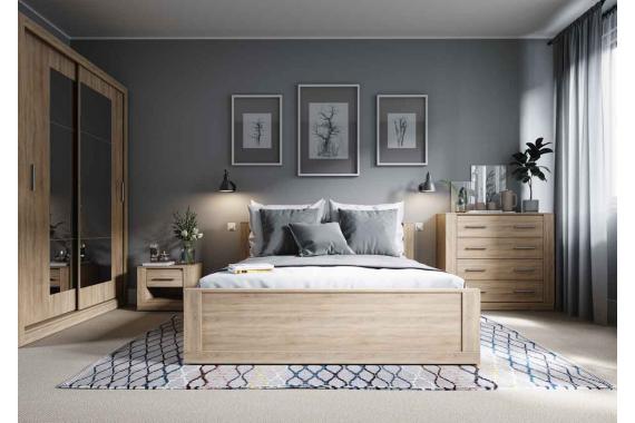 IDEAL 14 zásuvka pod posteľ, dub sonoma