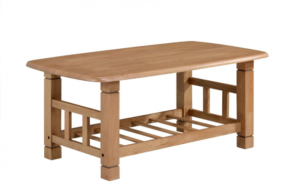 » HANNY konferenčný stolík, dub teak