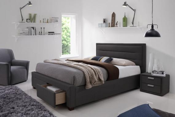 Čalúnená posteľ KAREN 180 s UP VER- 0240