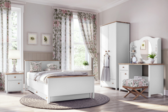 STOORI posteľ s matracom SO 08