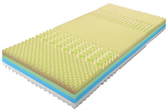 TEMKOOL sendvičový matrac 80 x 200, poťah Snow