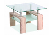 LISA D BASIC konferenčný stolík, dub sonoma