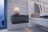 Nočný stolík MOLI - šedý