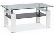Konferenčný stolík LISA II, biely lesk