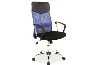 Q-025 kancelárske kreslo modré