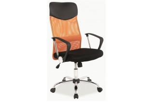 Q-025 kancelárske kreslo oranžové