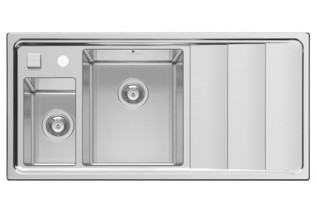 Drez STUDIO 1 1/2B1D L (100x50), nerez, ľavé prevedenie