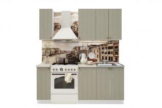 PROVENSAL 130 kuchynská zostava sivá
