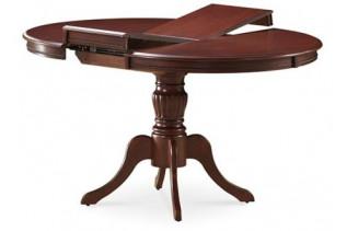OLIVIA jedálenský rozkladací stôl okrúhly