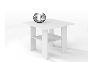 Malý konferenčný stolík AGATA H50, biela