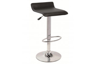 AB-044 barová stolička, čierna