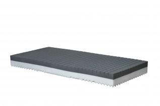 MADAM sedemzónový matrac 140 x 200, poťah snow