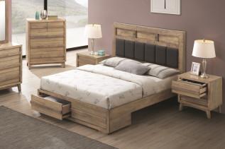 ANDORRA drevená manželská posteľ 180