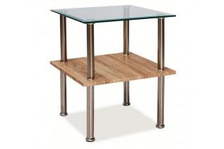 ANNA príručný stolík, dub sonoma