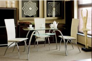 Vzorová zostava: stôl ARACHNE I + stoličky H-140