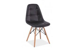 LEXA stolička, čierna