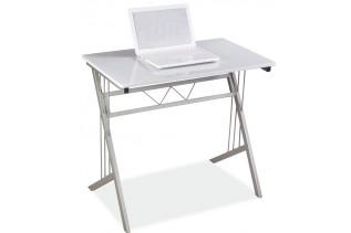 BS-120 pracovný stôl, biely