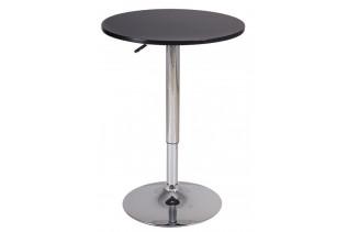 BS-500 barový stolík, čierny