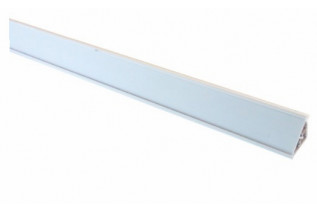 Tesniaca lišta k PD plastová s možnosťou vsunúť pásku, 3m