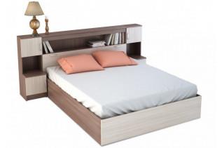 BASKA posteľ so záhlavím 160x200 KP-552, jasan šimo