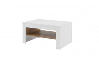 BELFRY 41 konferenčný stolík, biely lesk